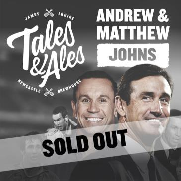 TALES & ALES - JOEY & MATTHEW JOHNS