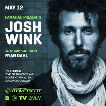 Josh Wink Official Movement Pre-Party: