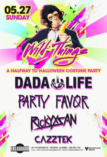 Dada Life, Party Favor, Rickyxsan & Cazztek: Main Image