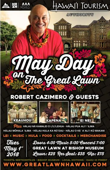 May Day on the Great Lawn: Main Image
