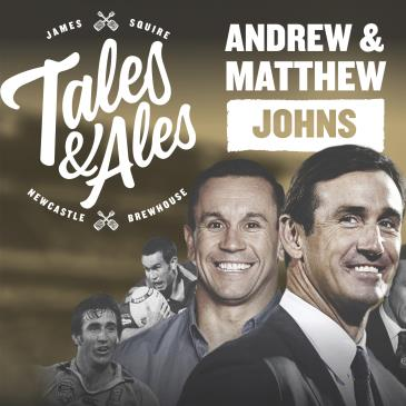 TALES & ALES - JOEY & MATTY JOHNS