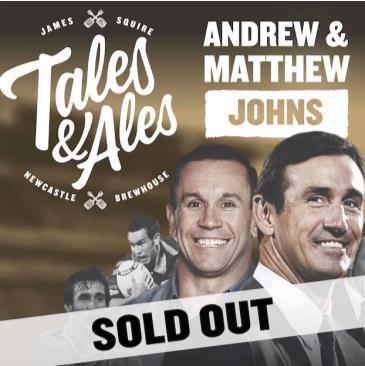 TALES & ALES - JOEY & MATTY JOHNS: Main Image
