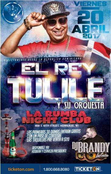 EL REY TULILE Y SU ORQUESTA: Main Image