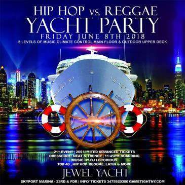 Hip Hop vs. Reggae NYC Midnight Cruise at the Jewel Yacht-img