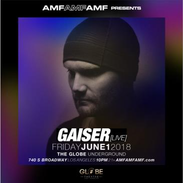 AMFAMFAMF Presents: Gaiser (Live) CANCELLED: Main Image