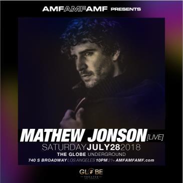 AMFAMFAMF Presents: Matt Jonson: Main Image