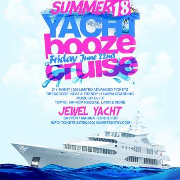 NYC Booze Cruise Yacht party at Skyport Marina Jewel Yacht-img