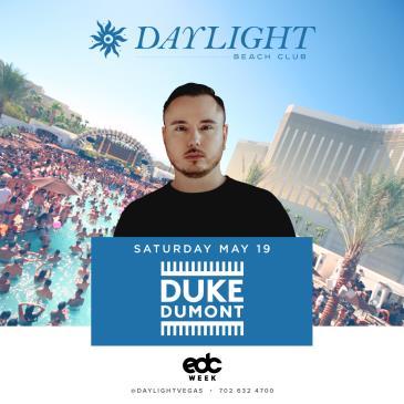 EDC WEEK   Duke Dumont at DAYLIGHT Beach Club: Main Image