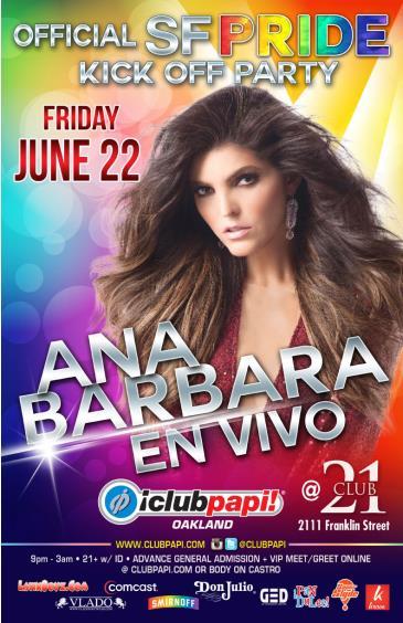 ANA BARBARA LIVE! (GENERAL): Main Image