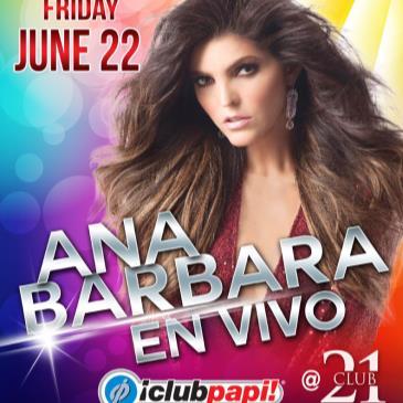 ANA BARBARA LIVE! (GENERAL)-img