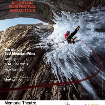 Banff Mountain Film Festival World Tour 2018 Wellington Blue