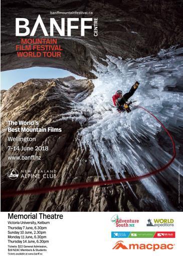 Banff Mountain Film Festival World Tour 2018 Wellington Red: Main Image