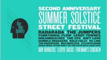 Second Anniversary Summer Solstice Street Festival: Main Image