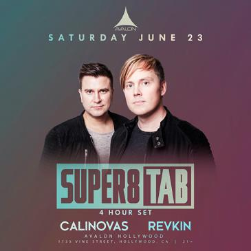 Super8 & Tab - 4 Hour Set-img