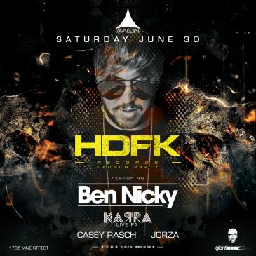 Ben Nicky - HDFK Records Launch Party-img