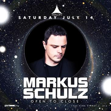 Markus Schulz - Open to Close: Main Image