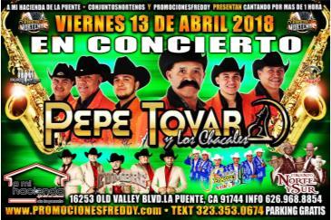PEPE TOVAR Y LOS CHACALES: Main Image