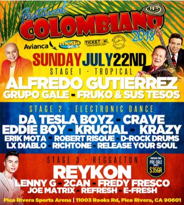 FESTIVAL COLOMBIANO EN LOS ANGELES: Main Image
