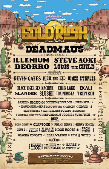 Goldrush 2018: Main Image