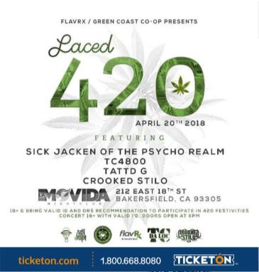 LACED 420: Main Image