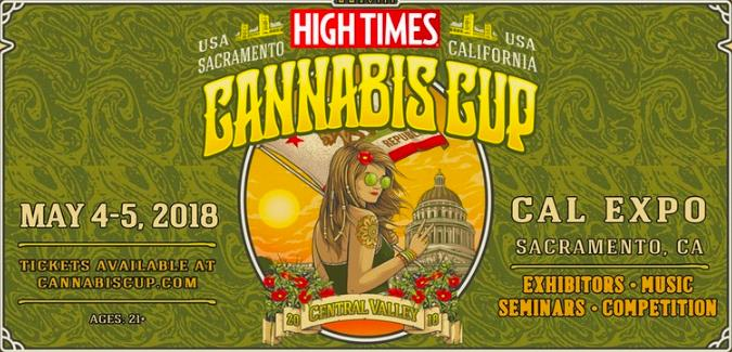 High Times Cannabis Cup Central Valley 2018 Tickets 05/04/18