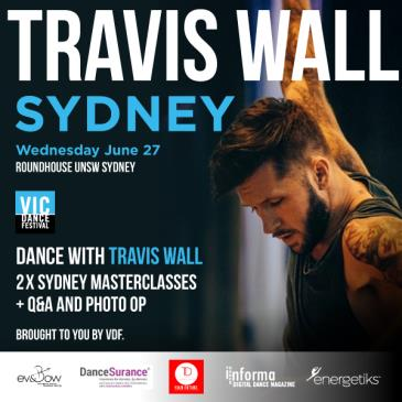 TRAVIS WALL SYDNEY: Main Image