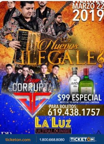 LOS NUEVOS ILEGALES & GRUPO CORRUPTA: Main Image