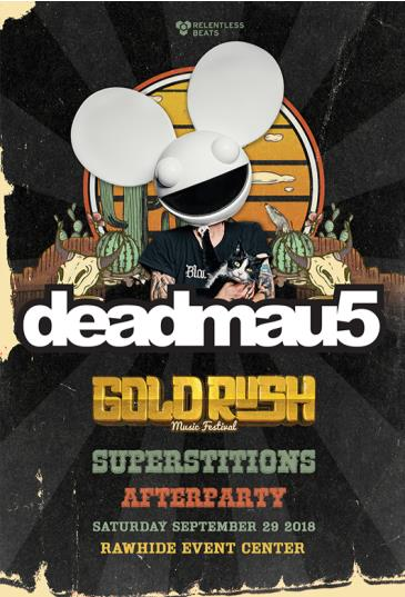 Deadmau5 - Goldrush Superstitions Afterparty (Day 1): Main Image
