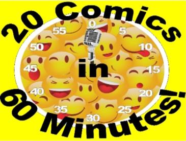 BonkerZ Presents 20 Comics in 60 Mins Comedy Slam # 4 / 8:45: Main Image