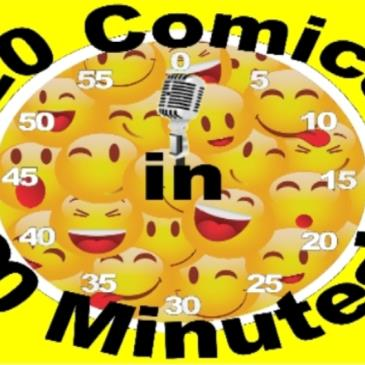 BONKERZ PRESENTS 20 COMICS IN 60 MINS COMEDY SLAM # 4 / 7pm-img