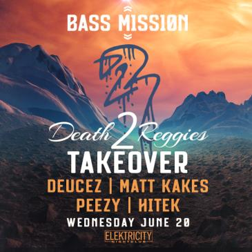 DEATH2REGGIES TAKEOVER (Limited Free w/ RSVP Before 10:30PM): Main Image