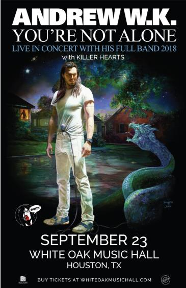 Andrew W.K., Killer Hearts: Main Image