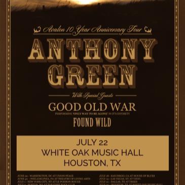 Anthony Green, Good Old War, Found Wild-img