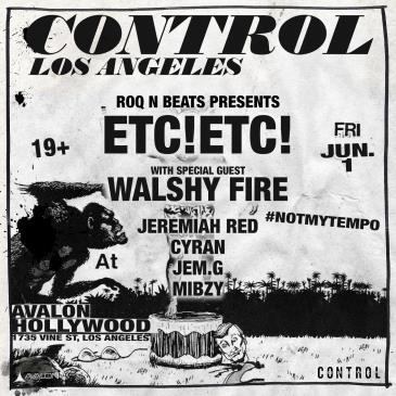 ETC!ETC!, Walshy Fire: Main Image