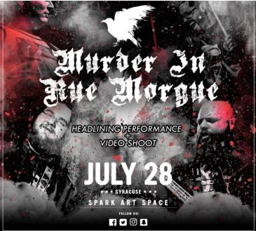 Murder In Rue Morgue - Headlining Performance + Video Shoot: Main Image
