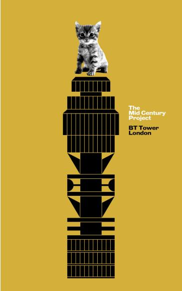 The Mid Century Project - BT Tower London: Main Image