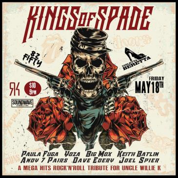 Kings of Spade: A Rock'n'Roll Tribute for Uncle Willie K: Main Image