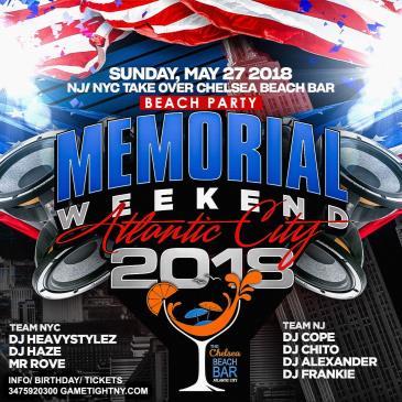 Chelsea Beach Bar Memorial Day Weekend 2018 Atlantic City-img