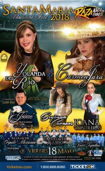 SANTA MARIA MARIACHI FESTIVAL 2018: Main Image