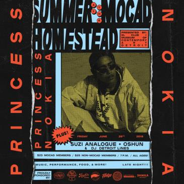 Summer on the MOCAD Homestead with Princess Nokia: Main Image