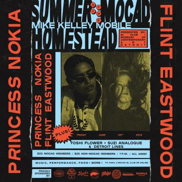 Summer at the MOCAD Homestead with Princess Nokia: Main Image