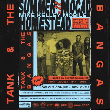 Summer at the MOCAD Homestead with Tank + The Bangas CXL: Main Image