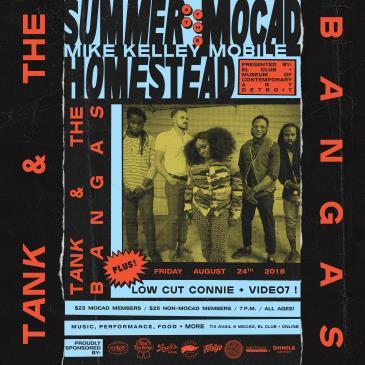 Summer at the MOCAD Homestead with Tank + The Bangas: Main Image