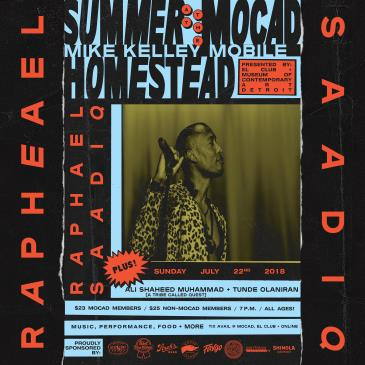 Summer at the MOCAD Homestead with Raphael Saadiq: Main Image