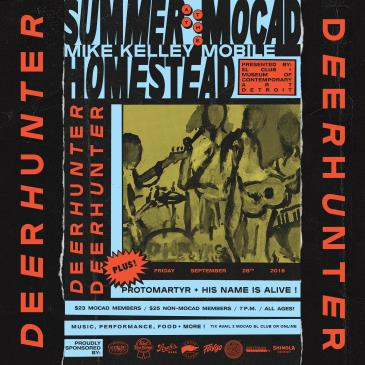 Summer at the MOCAD Homestead with Deerhunter: Main Image