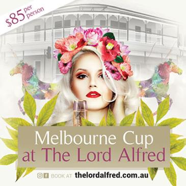 Melbourne Cup at The Lord Alfred: Main Image