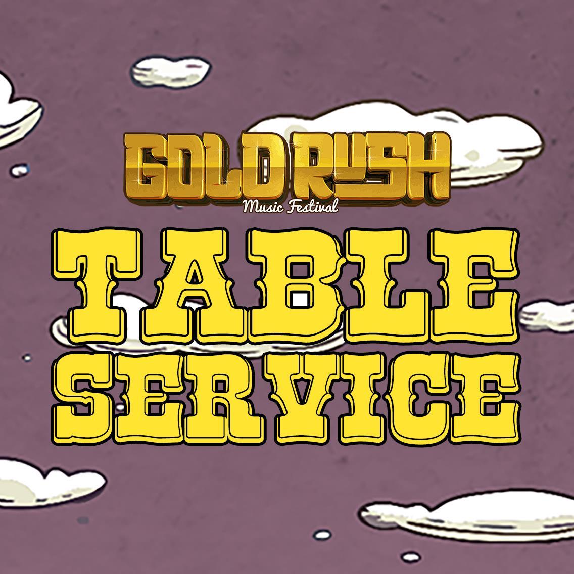 Goldrush - TABLES Tickets 09/29/18