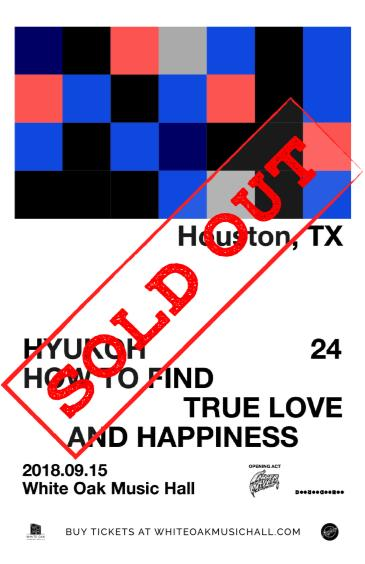 HYUKOH 24 TOUR - NORTH AMERICA with Inner Wave (SOLD OUT): Main Image