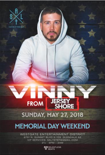 Vinny from Jersey Shore CANCELLED: Main Image