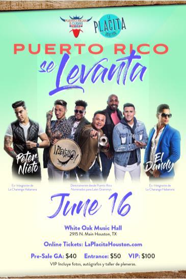 Puerto Rico Se Levanta - Plenealo + Peter Nieto: Main Image